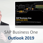 SAP Business One 2019 outlook