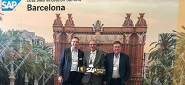 maringo on sap smb innovation summit 2018 Barcelona