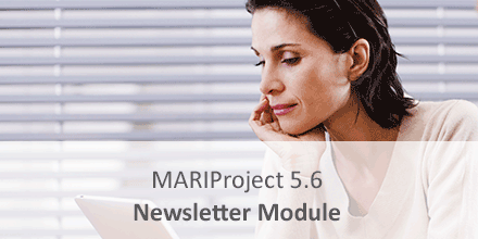 PIC mariproject newsletter module