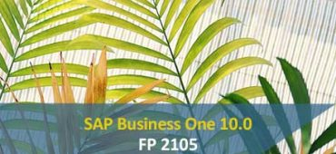 SAP Business One 10.0 fp2105